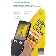 Two-Way Voice Translator Device,Photo Global Translation,Offline Simultaneous Interpreter Translator,40+ Language Real-Time Translator[Energy Class A]