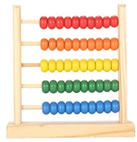 MAGIKON Miniature Counting Frame5 RowsLearning Mathematics Abacus