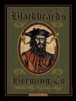 Blackbeards-Brewing-Metal-Sign-Pirate-Decor-Wall-Accent
