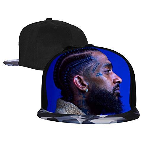 Cjhk_YZ2g_96Ou Fashion Hip Hop Hat Rap_Nip_sey_Hus Adjustable Leisure Cap for Men and Women Gray
