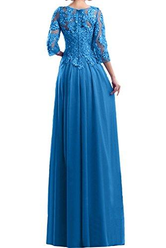 Marie La Abendkleider Rot Langes Abschlussballkleider Braut Ballkleider Spitze Brautmutterkleider TdAwzCdq