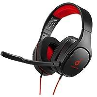 سماعات رأس لألعاب ساوند كور سترايك 1 من انكر، صوت ستيريو ، تحسين الصوت لألعاب اف بي اس، وميكروفون عازل للضوضاء ووسائد…