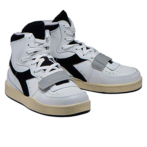 Sneakers Bianco E Diadora Mi Uomo Basket Per Used Donna AqW4dHxB