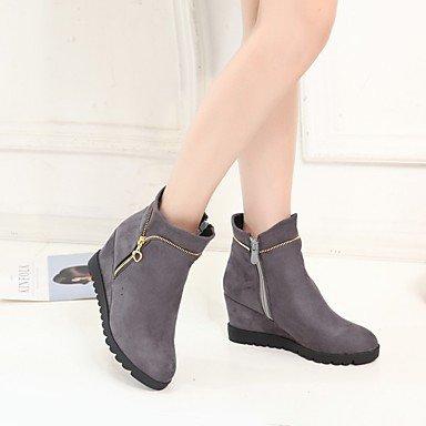 SHAOYE Mujer Zapatos Materiales Personalizados Invierno Botas de nieve Botas de Equitación Botas de Moda Botas de Combate Suelas con luz Botas , gray , us9.5-10 / eu41 / uk7.5-8 / cn42 us9.5-10 / eu41 / uk7.5-8 / cn42 gray