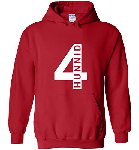 YG 4hunnid Unisex Red Pullover Hoodie