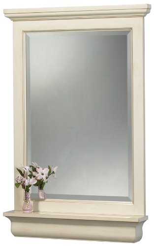 Pegasus CTAM2432 Cottage 24-Inch Mirror, Premium Antique White