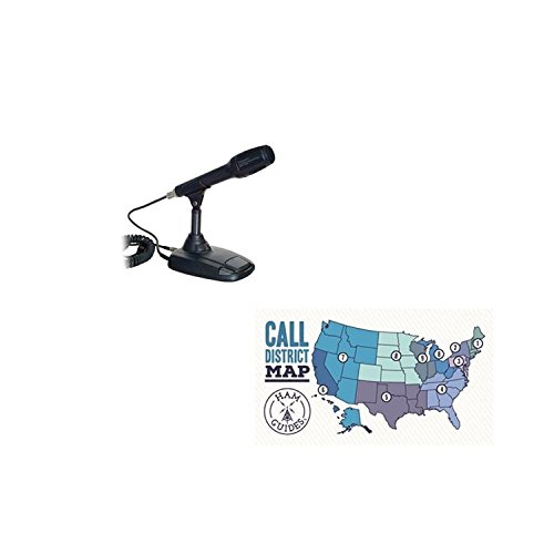 Used, Yaesu Desktop Microphone and Ham Guides TM Pocket Reference for sale  Delivered anywhere in USA