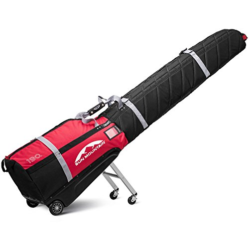 Sun Mountain SkiGlider Travel Bag 2017 Black/Red