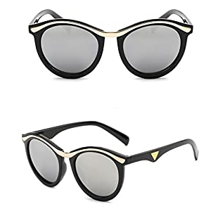 Yelovemei Classic Fashion Style Women's Sunglasses Color Lens UV400