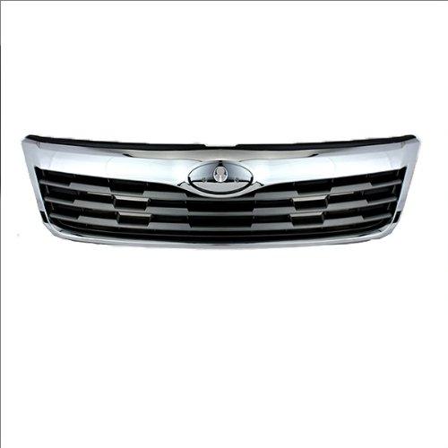 CarPartsDepot Grill Grille Front Chrome Gray Su1200141 91191Sc001