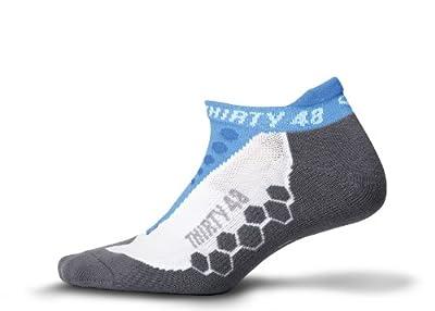 Thirty48 Running Socks Unisex, CoolMax Fabric Keeps Feet Cool, Dry; 1,3,6 Pairs