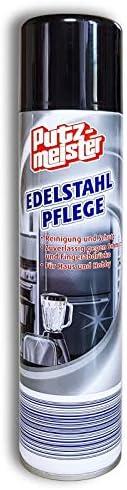 Edelstahl Pflegespray 400ml Edelstahlpflege reinigt schütz gegen Fingerabdrücke