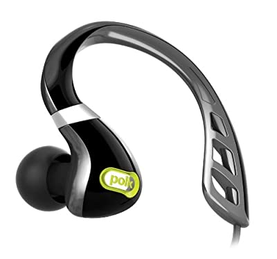Polk Audio UltraFit In-Ear Sport Headphone made for Android (Black/Green)