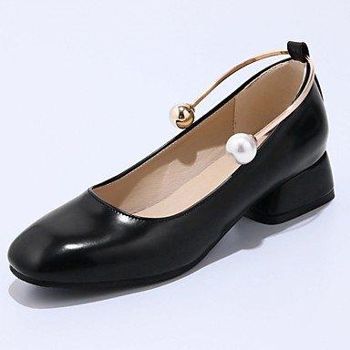 RTRY Tacones Mujer Comodidad Novedad Polipiel Verano Otoño Casual Office &Amp; Vestido De Carrera Comodidad Novedad Bowknot Stiletto Heelblushing Rosa US8 / EU39 / UK6 / CN39