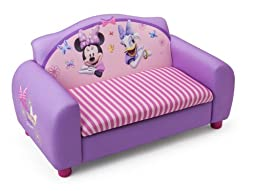 Delta Children\'s  Products Minnie Mouse Upholstered Sofa(Discontinued by manufacturer)