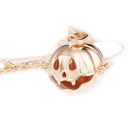 Halloween Pumpkin Lantern Music Angel Ball Necklace Bola Pendant fit 16mm Ball
