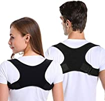 Haltungskorrektur Rückenstütze Rücken Geradehalter Schultergurt Haltungstrainer, Posture Corrector für Herren und Damen...