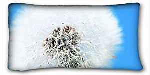 Custom Nature Custom Cotton & Polyester Soft Rectangle Pillow Case Cover 20x36 inches (One Side) suitable for Twin-bed