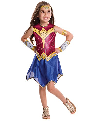 Rubie's Costume Batman vs Superman: Dawn of Justice Wonder Woman Value Costume, -