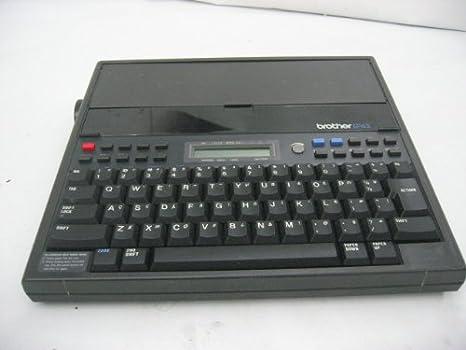 Brother electrónicos personales ep-43 LCD máquina de escribir: Amazon.es: Electrónica