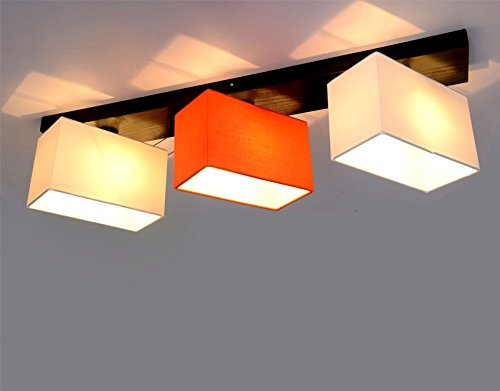 Natsen LED Ceiling Light Chinese style lamp 3-Way J5719/3CL Include ...
