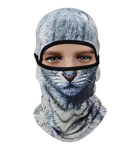 a3236147805 Fleece Cap Winter Ski Balaclavas Motorcycle Mask 3D Animal Hats for Outdoor  Sport