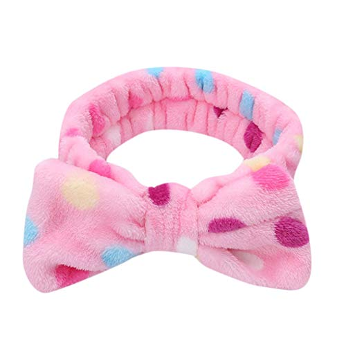iNoDoZ Women's Bowknot Cute Headwear Soft Elastic Hair Band Lovely Comfortable Hair Accessories -