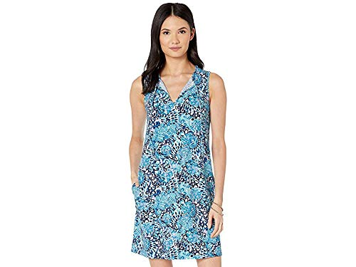 Lilly Pulitzer Women's Johana Cover-Up Light Aqua Spritz X-Small