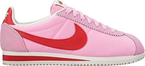 Nylon RED Perfect WMNS NIKE Classic Women's Cortez Sport Prem Pink 8 US SAIL IwTHq