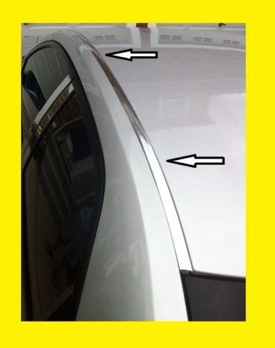 For 1992-1995 HONDA CIVIC CHROME ROOF TRIM MOLDING KIT - Hatchback