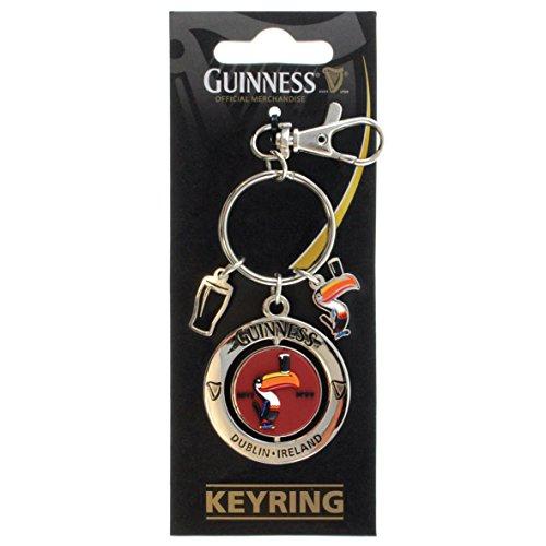 - Guinness Spinner Toucan Keyring