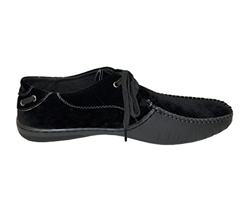 01 Eye Up Driver Mucci Tan M Bull Shoes 2 Red Happy black on Casual Black Slip Men's Lace 6nAqxIZz
