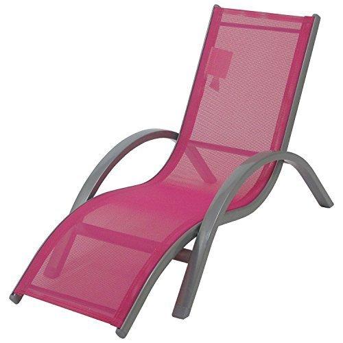 Redmon Beach Baby Kids Lounger, Pink