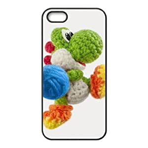 iPhone 4 4s Cell Phone Case Black Yoshi's Woolly World VIU127641