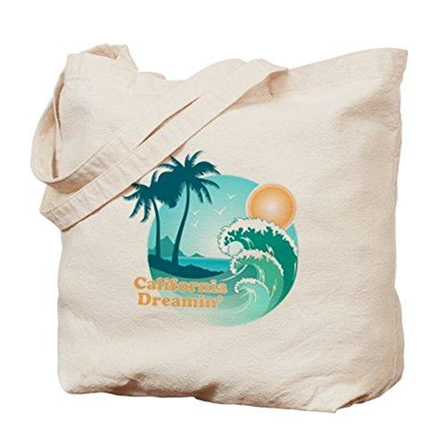 CafePress–California Dreamin '–Borsa di tela naturale, panno borsa per la spesa
