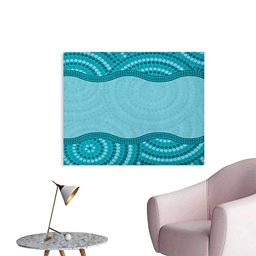 Anzhutwelve Seafoam Art Stickers Wavy Dotted Pattern for sale  Delivered anywhere in Canada