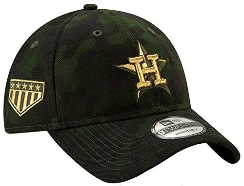 New Era Houston Astros 2019 MLB Armed Forces Day 9TWENTY Adjustable Hat - Camo