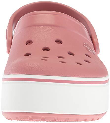 Mujer Clog Crocband Zuecos Platform Crocs ICwqvnFUB