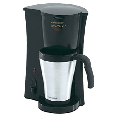 DCM18S Brew 'n Go Personal Coffeemaker with Travel Mug