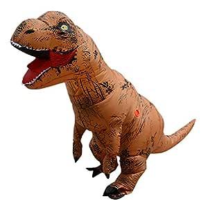 Fernando Guapo - Disfraz de Dinosaurio Inflable para Adultos y niños, Disfraz de Santa Claus para Cosplay, Tyrannosaurus Rex T-Rex, 1#, Adult: ...