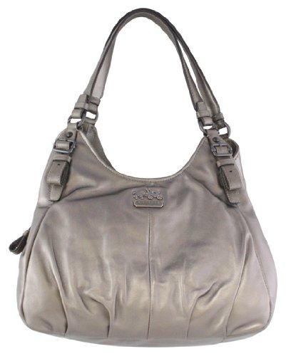 4c1a8fcacd3e Amazon.com  Coach Madison Leather Maggie Shoulder Hobo Bag Purse Tote 16503  Bronze  Shoes