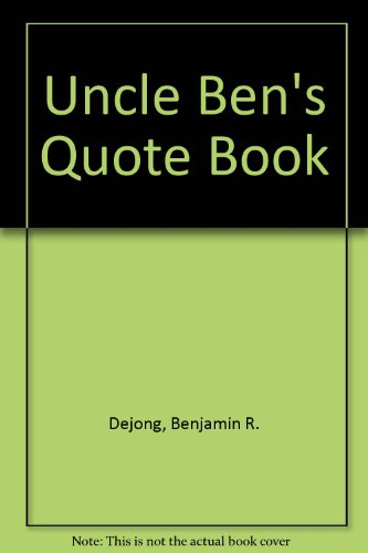 uncle-bens-quote-book
