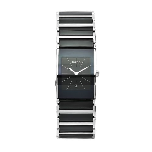 - Rado Women's R20785152 Integral Black Dial Ceramic Case Watch