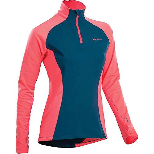 Sugoi MidZero Zip Top - Women's Baltic Blue (Sugoi Midzero Zip Shirt)