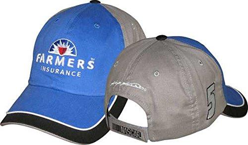 Kasey Kahne CFS Farmers Insurance Fan Up Hat - - Kasey Cap Kahne
