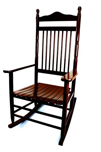 Dixie Seating Calabash Wood Rocking Chair No. 467SRTA Walnut