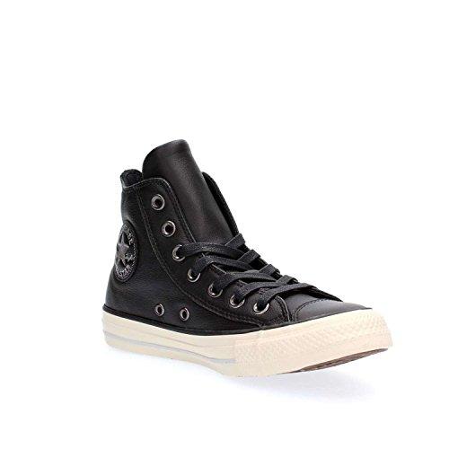 Donna Sneakers Scarpe Converse Nero Alte 559012c Aq8c55Sw