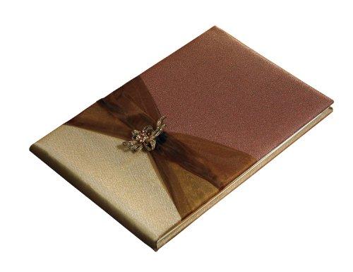 (Weddingstar Bronze Elegance Traditional Guest Book)