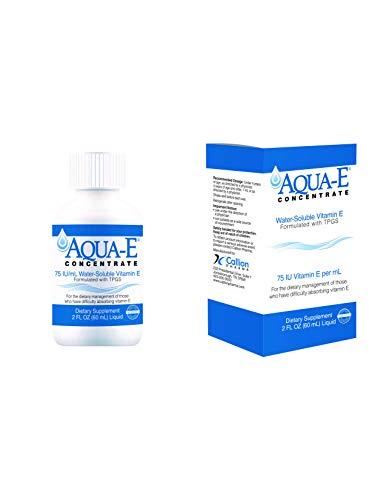 Aqua-E Concentrate 75 IU/ml, 60 ml Bottle, Water Soluble Vitamin