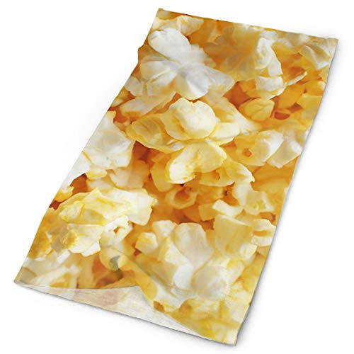 (TPSXXY Cream Corn Popcorn Food Salty Men Women Multifunctional Moisture Wicking Cowboy Bandana Headbands)